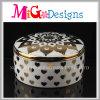 Caja de anillo de cerámica de las muchachas decorativas