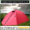 2人の昇進の表示ヨーロッパの防水ピンクのキャンプテント