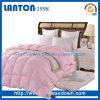 Jogo 100% branco do fundamento do Comforter da listra do cetim do algodão do hotel da alta qualidade