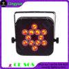 12X10W RGBW 4in1 batteriebetriebener LED NENNWERT kann beleuchten