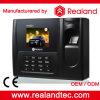 Comparecimento biométrico Manchine do tempo do controle de acesso da impressão digital de Realand