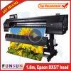 O melhor preço Funsunjet Fs-1802G 1,8M Impressora de Grande Formato exterior com dois Dx5 Chefes 1440dpi para impressão de Banner Flex