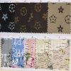 Couro artificial do plutônio do PVC do teste padrão colorido para sapatas, sacos, decoração. (HS-Y21)