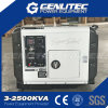 Potencia diesel 5kw del dínamo del generador silencioso estupendo
