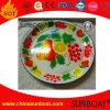 La frutta del piatto della frutta dello smalto dell'annata ha decorato il piatto dello smalto/piatto di verdure