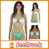 Frauen-Badebekleidungs-Grün-Diamant-Badeanzug-reizvoller Bikini (KS6102010)