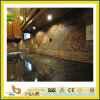 Partie supérieure du comptoir bleue Polished de granit de perle de pierre normale pour la cuisine/salle de bains (YQC)
