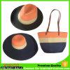 Eco langer Griff-Stroh-Strandtote-Beutel mit zwei Hüten
