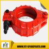 Быстро струбцина трубы/Sany зажима для резиновой трубы конкретного насоса/резины конкретного насоса
