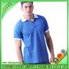 Polo-Hemden der blauen populären Männer Baumwoll
