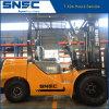 Dieselgabelstapler der Snsc Qualitäts3.5tons mit vollem freiem Aufzug-Duplexmast