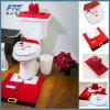 decorazione di natale del coperchio di sedi della toletta della stanza da bagno del Babbo Natale di natale 3PC/Set