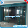 Telescópica automática sistema de puerta corrediza