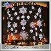 Luz al aire libre del adorno de la calle del copo de nieve de la decoración LED de la pared de la Navidad
