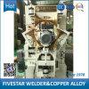 Maquinaria de cinco estrelas da soldadura automática para o cilindro de aço que faz a máquina