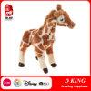 Jouets bourrés bon marché faits sur commande de peluche d'animaux sauvages de giraffe