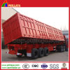 3axles Semi Dump Trailers/Side Tipper mit Hydraulic Cylinder