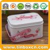 Süßigkeit-und Kuchen-Zinn-Kasten mit Griff für Hochzeits-Geschenke