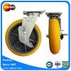 Frein de blocage supérieur 8 pouce de Heavy Duty TPR Castor de roue
