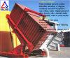 Giralingotti telescopici idraulici del contenitore per girare il contenitore