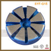 3 pouces 10 Seg 1 disque de polissage de meulage de diamant d'obligation en métal de Pin