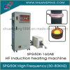 máquina de aquecimento de alta freqüência Spg50K-160b da indução de 160kw 30-80kHz para extinguer
