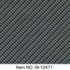 Numéro noir M-12471 de film d'impression de transfert de l'eau de modèle de fibre de carbone