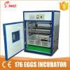 176 яйца модель полностью автоматическая яичной птицы инкубатор (YZITE-4)
