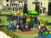Das crianças temáticos da alta qualidade da natureza pequena de Kaiqi campo de jogos ao ar livre (KQ50081D)