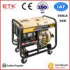 Супер молчком портативный тепловозный генератор (BDG3500E)