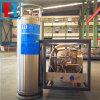 低温学シリンダーを補充するガス