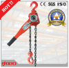 10 tonnes Lifting Hoist Hand Pulling Chain Block avec Pulley