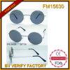 Lunettes de soleil de recyclage de Polarizad de vente de FM 15630 en métal chaud de cru