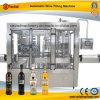 Máquina que capsula de relleno del vino automático