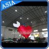 バレンタインデーのギフトのための新式の膨脹可能な照明中心か膨脹可能な中心の形の気球