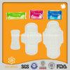 Une garniture sanitaire ultra mince de serviette sanitaire de magasin du dollar pour la femelle
