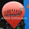 Luftdichtes Helium-aufblasbare Ballon Waterdrop Form mit Pumpe