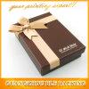 Poignée de commande de bijoux personnalisés boîte cadeau papier Emballage en carton