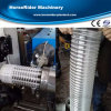Máquina de enrrollamiento reforzada plástico de la protuberancia de la manguera del PVC
