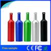 En 2016 Échantillon gratuit de la forme de bouteille de vin rouge lecteur Flash USB en métal