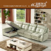 Sofa de cuir véritable de loisirs de qualité (623)