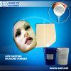 El caucho de silicón del bastidor de la vida para hace la máscara con una contracción más inferior