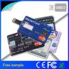 Kundenspezifischer Firmenzeichen-Kreditkarte USB-greller Stock