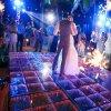 Nouveau design Disco Fête de Mariage Décoration de l'étape 3D Portable LED RVB plancher de danse pour la vente