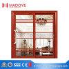 Porte coulissante en aluminium caractéristique avec le gril fabriqué en Chine