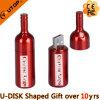 Mecanismo impulsor plástico del USB de la botella de cerveza para el regalo de la promoción (YT-1136)
