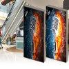 Bekanntmachen hellen Aluminiumkastens der Bildschirmanzeige-des einzelnen Seiten-LED