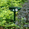 Reflector ultrasónico del jardín del perro del gato animales solares del reflector de los pequeños
