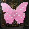 Крышка ниппели оптовой бабочки женщин розовой сексуальная