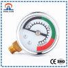 Informação de medidor de alarme de alta pressão sobre o manómetro aneroide